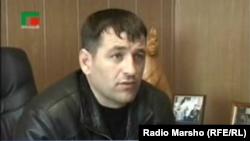 Нохчийчоь -- Теркйист-кIоштан керла куьйгалхо Куцаев Шемал, Соьлжан кIоштан полицин коьртехь вара тIаьххьарчу хенахь.