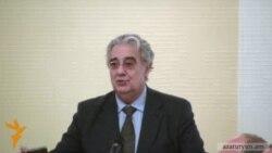 Հայաստանում է աշխարհահռչակ Պլասիդո Դոմինգոն