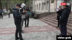 Эътироз дар Бишкек