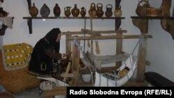 Етно музеј во кумановското село Режановце.
