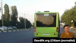 Uzbekistan - complaint about public transport in Tashkent
