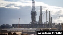 """President Alyaksandr Lukashenka has gone so far as to say the Naftan oil refinery's productivity is a matter of Belarusian """"independence."""""""
