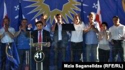 ქართული ოცნების მიტინგი, 2012 წლის 29 სექტემბერი, თბილისი.