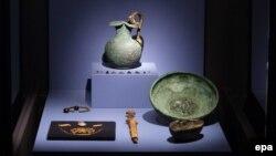 Экспонаты коллекции «Крым: золото и тайны Черного моря»