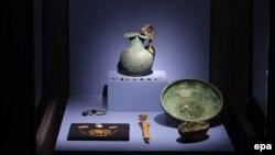 Экспонаты коллекции «Крым – золотой остров в Черном море»