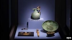 Експонати колекції «Крим: золото і таємниці Чорного моря»