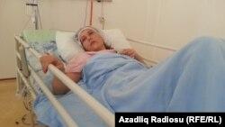 Ադրբեջան - Վիրավորված կինը հիվանդանոցում, 24-ը սեպտեմբերի, 2015թ․