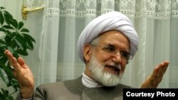Mehdi Karroubi, before his house arrest in 2010. FILE photo
