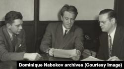 """Николай Набоков на """"Голосе Америки"""", 1946"""