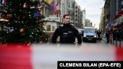 Полиция в Берлине.