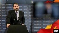 Наум Стоилковски, портпарол на ВМРО-ДПМНЕ