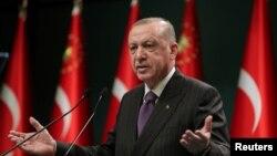 Президент Режеп Тайып Эрдоган.