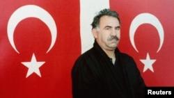 Лидер курдских повстанцев Абдулла Оджалан.