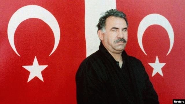 Abdullah Ocalan in a 1999 photo