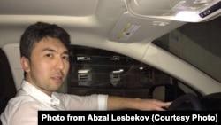 Живущий в Нью-Йорке казахстанец Абзал Лесбеков.