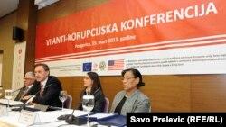 Nacionalna konferencija o korupciji, Podgorica, 15. mart 2013.