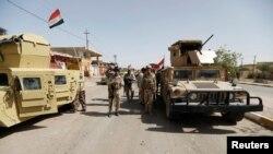Иракские солдаты в Фаллудже.