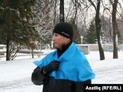 """""""Күк бүре"""" оешмасы рәисе Азат Сәлмәнов"""