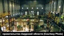 Современный комбинат по обогащению золотой руды. Амурская область.