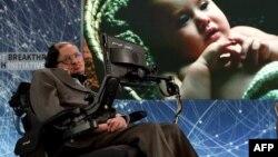 Британский астрофизик Стивен Хокинг