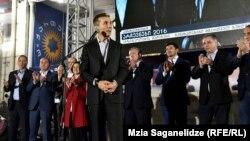 """Гуьржийчоь -- """"Georgian Dream"""" """"Гуьржийн сатийсам"""" парти дазбеш ю ша толам баккхар, Тбилиси 08ГIад2016"""