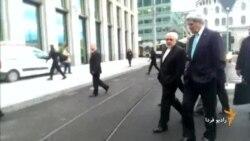 پیادهروی وزیران خارجه ایران و آمریکا در مرکز شهر ژنو