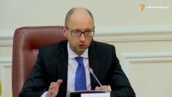Україна не зніме санкції з російських авіакомпаній, поки Росія не забереться з Криму – Яценюк