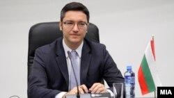 Бугарскиот министер за надворешни работи Кристиан Вигенин.