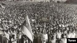 Акция, продолжавшаяся 17 дней, стала самой крупной акцией протеста на территории СССР