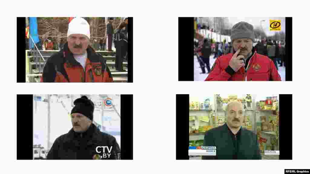 Спортан духар доьхначу Лукашенкан куьцах хIоттийна коллаж: тайп-тайпанчу спортан къийсамашкахь