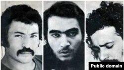 از راست به چپ:فرهاد، شهیار قنبری و اسفندیار منفردزاده