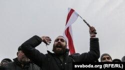 Пратэст у ВІцебску, 26.02.2017