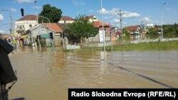 Սերբիա - Ջրհեղեղը Օբրենովաց քաղաքում, 19-ը մայիսի, 2014թ․