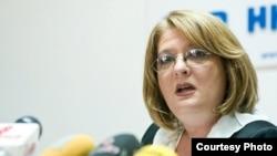 Lidija Dimova, direktorica Nacionalne agencije za evropske programe i mobilnost u Severnoj Makedoniji