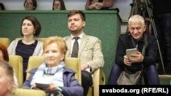 У часе прэзэнтацыі кнігі «Алексіевіч на Свабодзе»