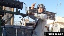 طفل جنده تنظيم الدولة الإسلامية في الرقة