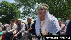 Aqmescitte tatar ve başqırlarda baar tarla işleriniñ bitmesini ifade etken Sabantuy bayramını qayd ettiler