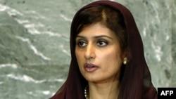 Министр иностранных дел Пакистана Хина Раббани Хар