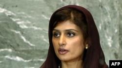 حنا ربانی کهر، وزیر امور خارجه پاکستان