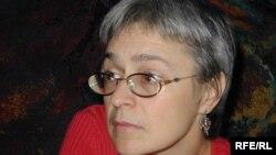 Анна Политковская. 2004. Фото Мумина Шакирова
