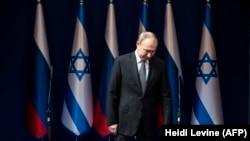 Владимир Путин, раиси ҷумҳури Русия дар Исроил. 23-юми январи соли 2020.