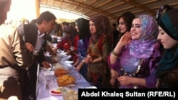 جانب من مهرجان التعايش السلمي في دهوك
