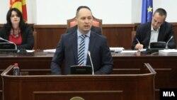 Министерот за финансии Кирил Миноски.