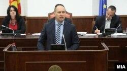 Архивска фотографија: Министерот за финансии Кирил Миноски на Седница на собраниската Комисија за финансирање и буџет