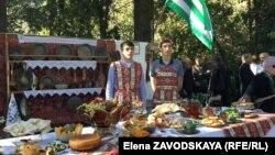 Армянские угощенья на празднике «Амшен» (архив)