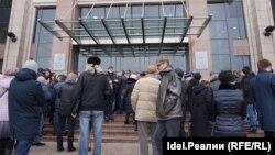 Акция клиетов проблемных банков 4 марта, Казань