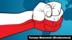 Удар со стороны Польши. Иллюстрация