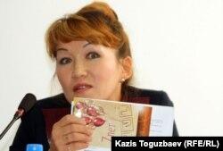 Адвокат из города Тараз Сауле Батылхан. Алматы, 25 октября 2011 года.