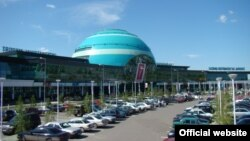 Международный аэропорт в Астане.