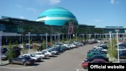Аэропорт в Астане.